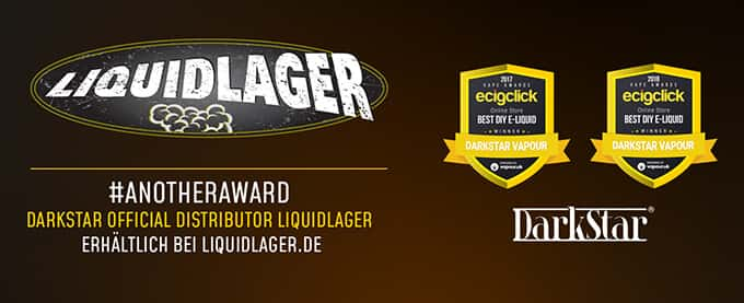 Darkstar Gewinner in 2017 - Das beste Liquid