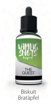 Vaping Shots The Quest Premium Liquid